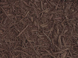 A picture of chocolate mulch