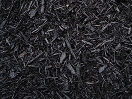 A picture of red mulch