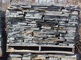 A picture of wall & stacking stone